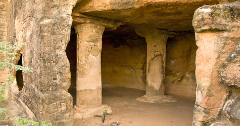 Kadia Dungar Caves in Bharuch