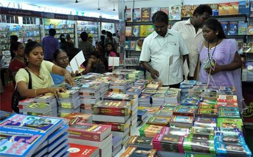 Crowd at Neyveli Book Fair
