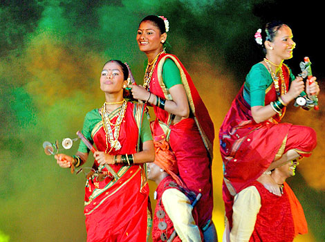 Traditional Dance in Panvel