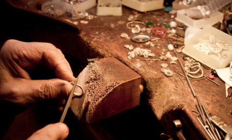 Jeweller at Work