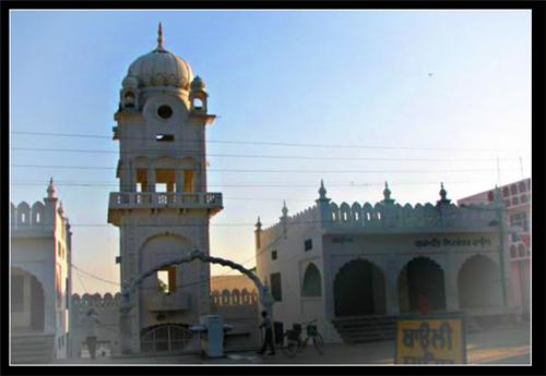 Gurudwara at Baarth