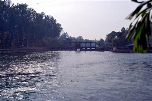 Upper Bari Doab Canal at Madhopur