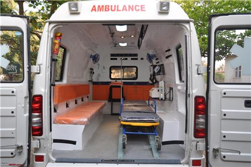 Ambulance services are crucial to offer desired assistance to critically ill patients