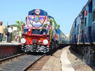 Railway network of Porbandar