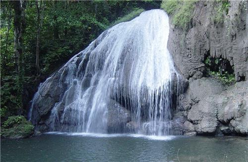 A Waterfall at the Little Andaman Island