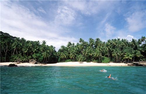 Katchal Island Beach in Nicobar Islands