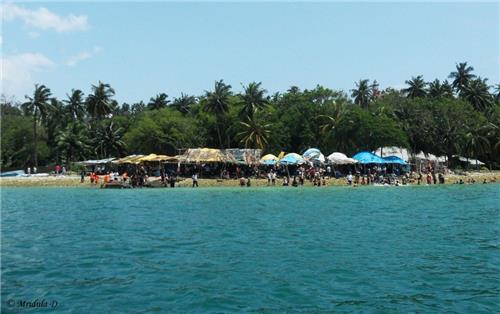 The North Bay Island at the Andaman