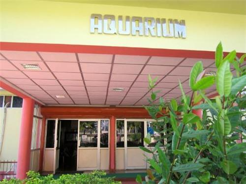 The Marina Park and Aquarium Entrance