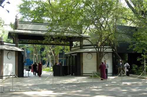 Koregaon Park at Osho Ashram-Credit Google