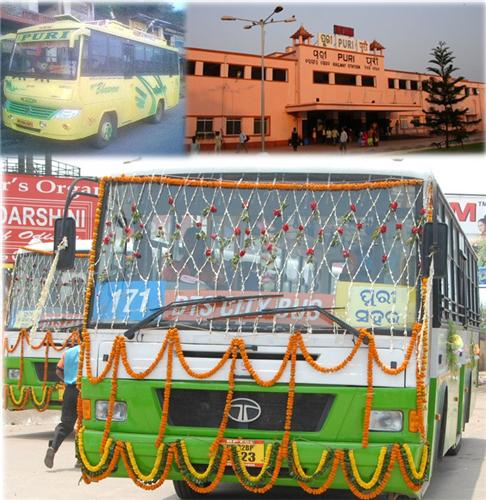Puri Canal Road Bhubaneswar: Transport Service In Puri, Bus Services In Puri