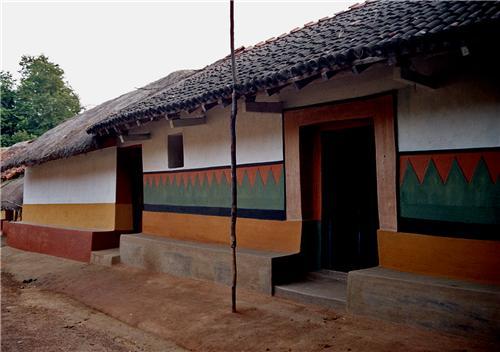 Santhali Villae in Purulia