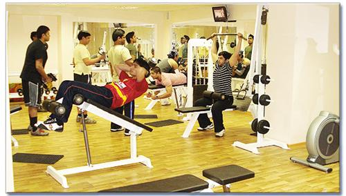 Fitness Centers in Raipur