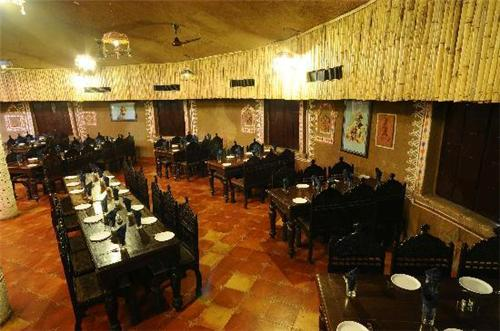 Lavish Dining at Madhuli Restaurant in Chouki Dhani Resort