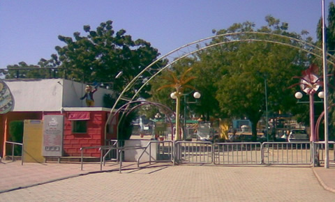 Famous Tourist Attraction Fun World Amusement Park in Rajkot