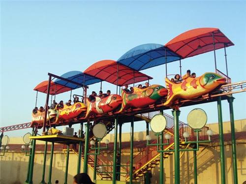 Rides at Fun World Amusement Park in Rajkot