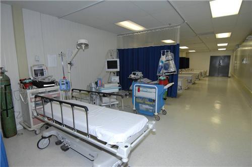 Critical Care Unit at Giriraj Hospital in Rajkot