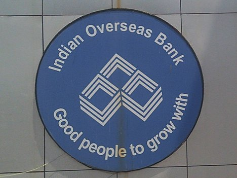 Indian Overseas Bank location in Rajkot
