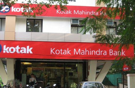 Location of Kotack Mahindra Bank in Rajkot
