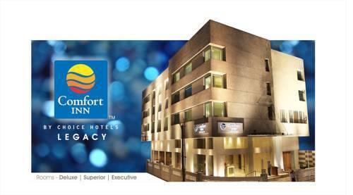 Reach Hotel Comfort Inn Legacy in Rajkot
