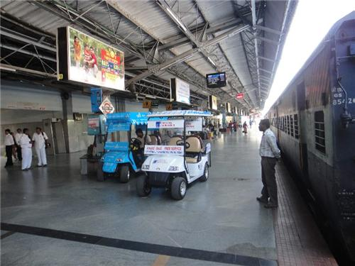 Facilities offered to passengers at Rajkot Railway Station