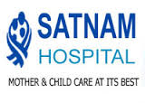 Location of Satnam Hospital in Rajkot