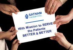 Committment to services at Satnam Hospital in Rajkot