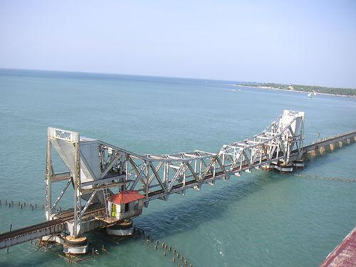 Rameswaram Pamban Railway Bridge