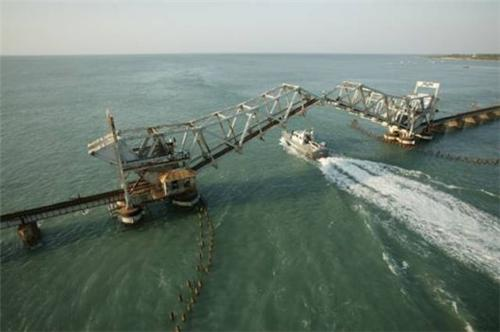 Pamban Island bridge