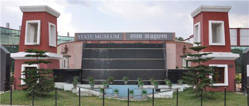 Beautiful Establishment of State Museum in Ranchi
