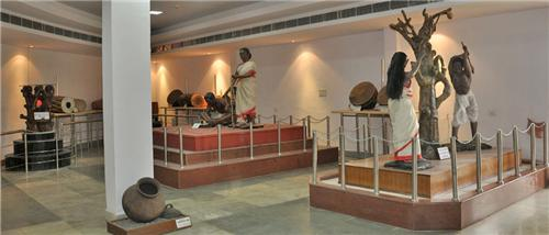 Ethnological Gallery at State Museum in Ranchi
