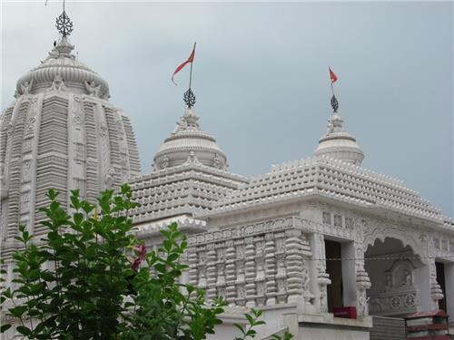 Panoramic View of Jagannath Temple in Ranchi