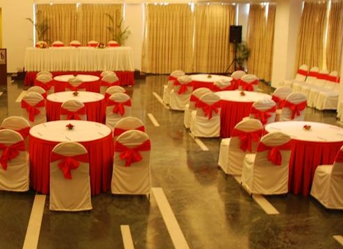 Banquet and meeting facilities at Hotel Capitol Hill in Ranchi