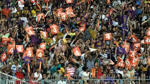 Environment of Stadium all through the match
