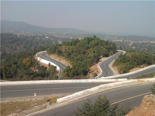 The Curvaceous roads from Ranchi to Patratu