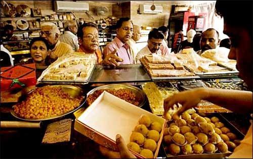 Sweet shops in Ratlam