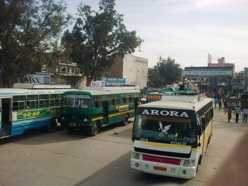 Buses in Rewari