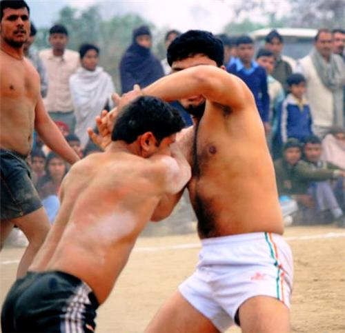 Wrestling in Rewari