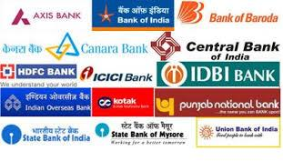 Logo of various bank in Roorkee