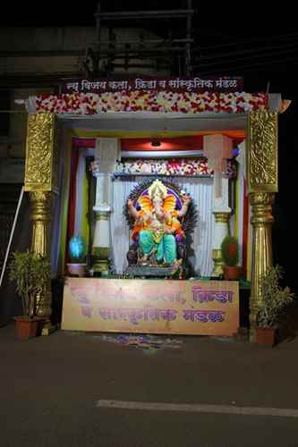 Images of Ganeshutsav 2017