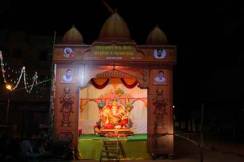 Pandals in Sangli