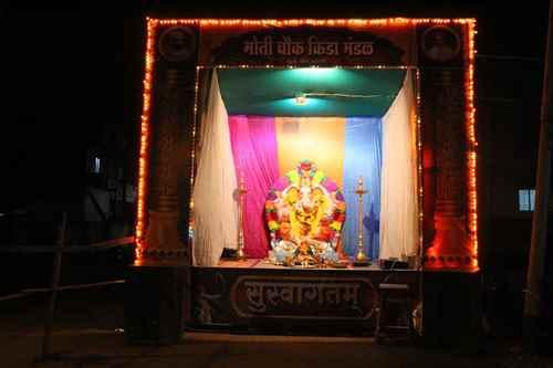 Ganesh Mandals in Sangli