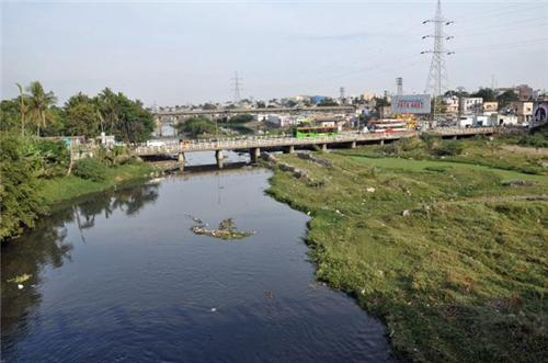 River in Secunderabad