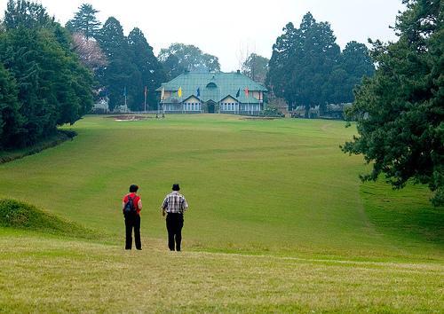Golfing in Shillong