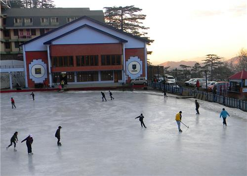 Fabulous Ice Skating Rink Activity at Shimla