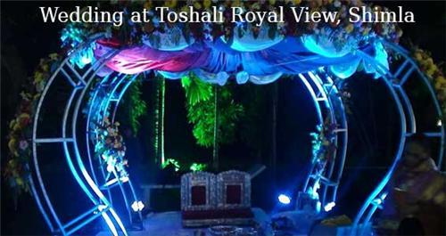Destination Wedding at Toshali Royal View