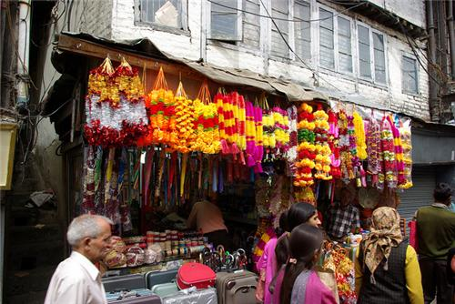 Lower Bazaar in Shimla