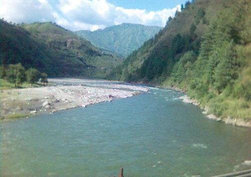 Pabbar River near Shimla