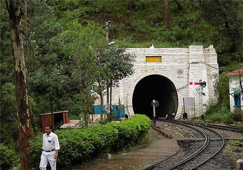 Present day Tunnel 33