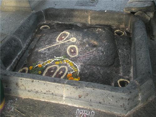 Vishnupad Temple in Pandharpur