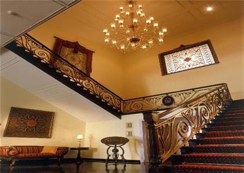 Interior of The Lalit Grand Palace in Srinagar